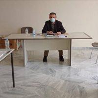 Ενημερωτική συνάντηση του προεδρείου του Εργατικού Κέντρου Κοζάνης με τον Περιφερειάρχη Δυτικής Μακεδονίας