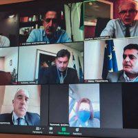 Τηλεδιάσκεψη Βουλευτών της Ν.Δ. και του Περιφερειάρχη Δυτικής Μακεδονίας με τον Πρόεδρο του ΕΛΓΑ Ανδρέα Λυκουρέντζο