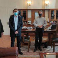 Συνάντηση του Λάζαρου Μαλούτα με τη διοίκηση του Συλλόγου Πολιτικών Υπαλλήλων ΥΕΘΑ/ΓΕΣ Δυτικής Μακεδονίας