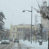 Κατάλευκο σκηνικό στην Κοζάνη την 2η μέρα της κακοκαιρίας «Μήδεια» – Δείτε φωτογραφίες
