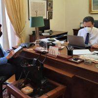 Η Π. Βρυζίδου με τον Αναπληρωτή Υπουργό Οικονομικών Θ. Σκυλακάκη για μέτρα στήριξης επιχειρήσεων, εργαζόμενων και άνεργων στην Π.Ε. Κοζάνης