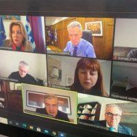 Διευρυμένη τηλεδιάσκεψη για την ανάπτυξη των βιομηχανικών περιοχών και των επιχειρηματικών πάρκων στη Δυτική Μακεδονία