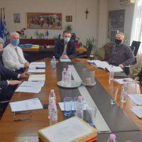 Σύσκεψη υπό τον Περιφερειάρχη Δυτικής Μακεδονίας Γ. Κασαπίδη στην Π.Ε. Φλώρινας για τον προγραμματισμό έργων