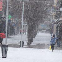 Στα λευκά η πόλη της Κοζάνης από την κακοκαιρία «Μήδεια» – Δείτε φωτογραφίες