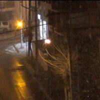 Χιονόπτωση το βράδυ της Τετάρτης 24 Μαρτίου στην Κοζάνη – Δείτε το βίντεο