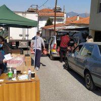 Πραγματοποιήθηκε η 7η διανομή τροφίμων στα Σέρβια στο πλαίσιο του προγράμματος ΤΕΒΑ