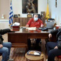 Συνάντηση του Δημάρχου Εορδαίας με τους Προέδρους του Εργατικού Κέντρου και του Εμπορικού Συλλόγου Πτολεμαΐδας