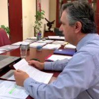 Τηλεδιάσκεψη του Γ. Κασαπίδη με εκπροσώπους των Συλλόγων Ροδακινοπαραγωγών για την ενίσχυσή τους μετά την καθολική ζημιά στην καλλιέργεια ροδακίνου