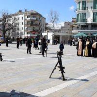 Ο εορτασμός των Εθνικών Αγώνων και της Εθνικής Αντίστασης κατά του ναζισμού και του φασισμούστην πόλη της Κοζάνης