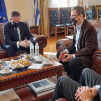 Στο Δημαρχείο Κοζάνης ο αναπλ. Υπουργός Εσωτερικών Στέλιος Πέτσας – Συνάντηση με το δήμαρχο Λάζαρο Μαλούτα