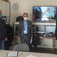 Συνάντηση του Γ. Αμανατίδη με τον Διευθυντή του Κέντρου Μετεωρολογικών Εφαρμογών στη Θεσσαλονίκη Κυριάκο Τσιτουρίδη