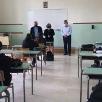 Επίσκεψη του Περιφερειακού Διευθυντή Εκπαίδευσης Δυτικής Μακεδονίας και της Διευθύντριας Δευτεροβάθμιας Εκπαίδευσης Κοζάνης στο ιστορικό Γυμνάσιο – Λύκειο Τσοτυλίου