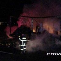 Εγνατία Οδός, Κόμβος Κουλούρας: Στις φλόγες τυλίχθηκε φορτηγό – Βίντεο