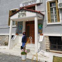 Επισκέψεις της Παρασκευής Βρυζίδου για ευχές στο Στρατό, την Αστυνομία και την Πυροσβεστική στην Κοζάνη