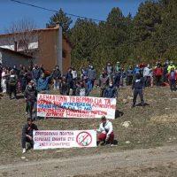 Με μεγάλη συμμετοχή νεολαίας πραγματοποιήθηκε η πεζοπορία διαμαρτυρίας για την εγκατάσταση ανεμογεννητριών στο Βέρμιο