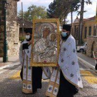 Βίντεο: Στην Ενορία Αγίου Δημητρίου Σιάτιστας η εικόνα της Παναγίας Μικροκάστρου