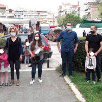 Κατέθεσαν ανθοδέσμη στην Πτολεμαΐδα για να τιμήσουν την Εργατική Πρωτομαγιά