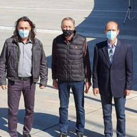 Κατάθεση στεφάνου στην Κοζάνη για τον εορτασμό της Εργατικής Πρωτομαγιάς από αντιπροσωπεία της Νομαρχιακής Επιτροπής Κοζάνης του Κινήματος Αλλαγής