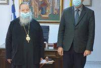 Συνάντηση του Μητροπολίτη Φλωρίνης, Πρεσπών και Εορδαίας κ. Θεόκλητου με τον Περιφερειάρχη Δυτικής Μακεδονίας Γ. Κασαπίδη