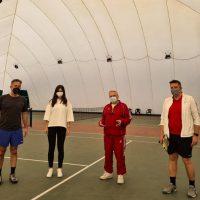 Ο Βουλευτής Π.Ε. Κοζάνης Στάθης Κωνσταντινίδης στον Όμιλο Αντισφαίρισης Πτολεμαΐδας