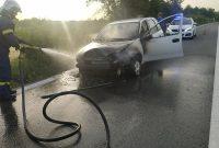 Φωτιά σε ΙΧ αυτοκίνητο έξω από τα Πετρανά Κοζάνης – Δείτε φωτογραφίες