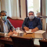 Συνάντηση Δημάρχου Εορδαίας με τον Πρύτανη του Πανεπιστημίου Δυτικής Μακεδονίας – Υπογραφή Μνημονίου Συνεργασίας