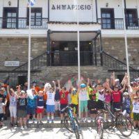 Πραγματοποιήθηκε η εκδήλωση ποδηλασίας που διοργάνωσε ο Δήμος Καστοριάς με αφορμή την Παγκόσμια Ημέρα Ποδηλάτου και την Παγκόσμια Ημέρα Περιβάλλοντος
