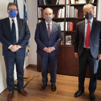 Συνάντηση του Πρύτανη του Πανεπιστημίου Δυτικής Μακεδονίας με τον Αναπληρωτή Υπουργό Ανάπτυξης και Επενδύσεων κ. Νίκο Παπαθανάση