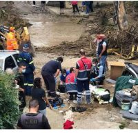 Θεσσαλονίκη: Νεκρός άνδρας από την κακοκαιρία – Παρασύρθηκε το όχημά του από χείμαρρο