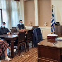 Επίσκεψη στο γραφείο του Δημάρχου Εορδαίας από κλιμάκιο του ΚΕΘΕΑ Δυτικής Μακεδονίας