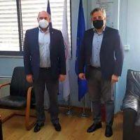 Δήμος Βοΐου: Επίσκεψη του προέδρου ΕΚΑΒ Ν. Παπαευσταθίου στο κτίριο του πρώην Δημαρχείου Ασκίου και εξαγγελία της ίδρυσης τομέα ΕΚΑΒ και ΕΤΙΚ
