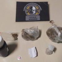 Συνελήφθησαν δύο άτομα σε περιοχή της Κοζάνης για κατοχή ηρωίνης, μεθαδόνης, χαπιών και ακατέργαστης κάνναβης