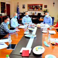 Σύσκεψη στην Π.Ε. Φλώρινας υπό τον Γ. Κασαπίδη για την πορεία και εξέλιξη των έργων