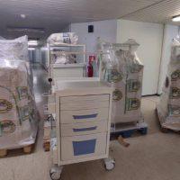 8 νέα τροχήλατα νοσηλείας στο Μποδοσάκειο Νοσοκομείο Πτολεμαΐδας