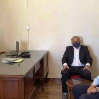 Συνάντηση του Γενικού Διευθυντή Ηλεκτροκίνησης της Δ.Ε.Η. με τους Δημάρχους Κοζάνης και Εορδαίας
