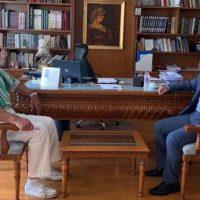 Επίσκεψη του βουλευτή Γιώργου Αμανατίδη στον Αντιπεριφερειάρχη Π.Ε Κοζάνης – Τι συζητήθηκε
