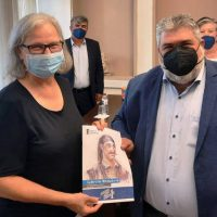 Τον Δήμαρχο Εορδαίας Παναγιώτη Πλακεντά επισκέφθηκε η Πρέσβης της Αυστρίας Hermine Poppeller