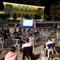 Την κατάκτηση του Euro από την Ιταλία παρακολούθησαν οι φίλαθλοι της Κοζάνης στην κεντρική πλατεία