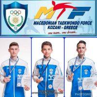 3 μετάλλια και 2 εισιτήρια για το Πανευρωπαϊκό της Εσθονίας με την Εθνική για τους αθλητές της Μακεδονικής Δύναμης