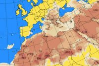 Μεταφορά σκόνης από την Αφρική λόγω καιρικών συνθηκών μέχρι την Παρασκευή – Η ανακοίνωση της ΠΔΜ για τις συγκεντρώσεις των αιωρούμενων σωματιδίων