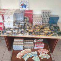 Συνελήφθησαν δύο διακινητές λαθραίων καπνικών προϊόντων στην Πτολεμαΐδα – Κατασχέθηκε μεγάλη ποσότητα αφορολόγητων προϊόντων