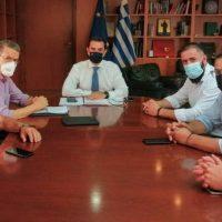 Μετεγκατάσταση Ακρινής: Με τον υπουργό Ενέργειας Κ. Σκρέκα συναντήθηκαν μέλη του Κοινοτικού Συμβουλίου Ακρινής και δήμαρχος Κοζάνης