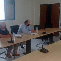 Συνάντηση του Περιφερειάρχη Δυτικής Μακεδονίας με το Διοικητή του Μποδοσάκειου Νοσοκομείου Πτολεμαΐδας
