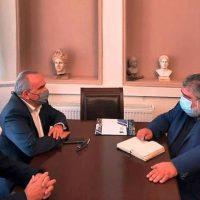 Βίντεο: Συνάντηση του Δημάρχου Εορδαίας με τον Αναπληρωτή Υπουργό Ανάπτυξης και Επενδύσεων, αρμόδιο για τις Ιδιωτικές Επενδύσεις και τις ΣΔΙΤ Νίκο Παπαθανάση