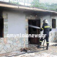 Ηλικιωμένη κάηκε ζωντανή μέσα στο σπίτι της στο Ξινό Νερό Φλώρινας