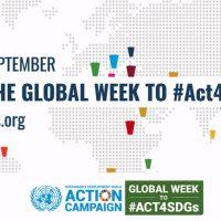 Ο Δήμος Κοζάνης συμμετέχει στην Παγκόσμια Εβδομάδα Στόχων Βιώσιμης Ανάπτυξης του ΟΗΕ στηρίζοντας και ενεργοποιώντας τις Έξι Δράσεις του Ελληνικού Δικτύου SDG 17 Greece