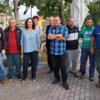 Επίσκεψη της Καλλιόπης Βέττα στα χωριά Δροσερό, Γαλάτεια, Ολυμπιάδα, Ερμακιά, Άγιο Χριστόφορο και Περδίκκα του Δήμου Εορδαίας