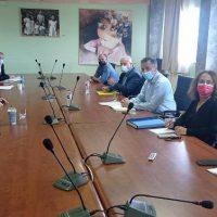 Συνάντηση του Γιώργου Κασαπίδη με τον Πρύτανη του ΠΔΜ Θεόδωρο Θεοδουλίδη για την πρόοδο των έργων του Πανεπιστημίου στη Φλώρινα