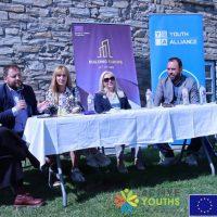 """Συνάντηση Φορέων και Πολιτών του Δήμου Αμυνταίου και του Δήμου Karpos στο πλαίσιο """"Europe for Citizens"""" στο Νυμφαίο Φλώρινας"""