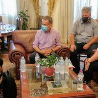 Συνάντηση του δημάρχου Κοζάνης Λάζαρου Μαλούτα με τον ευρωβουλευτή του ΣΥΡΙΖΑ Κώστα Αρβανίτη